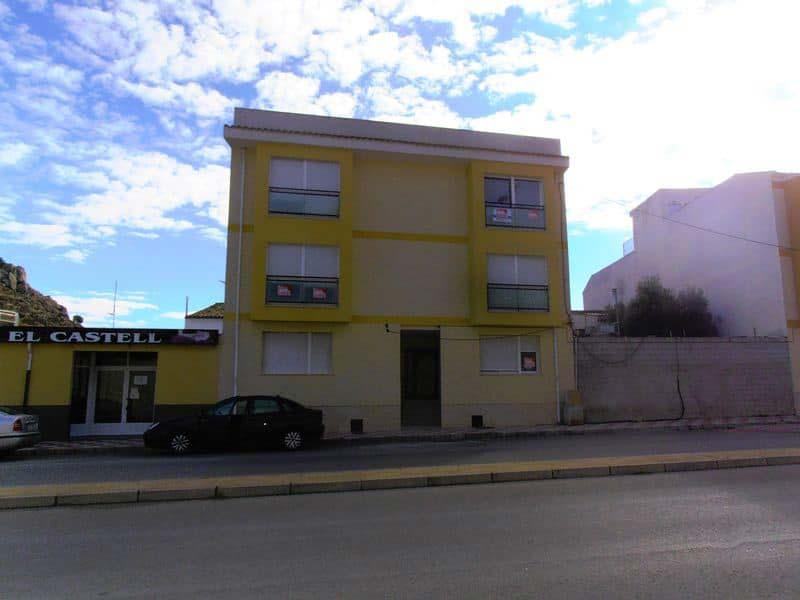 Piso en venta en Castalla, Alicante, Calle Ronda Foia, 51.200 €, 2 habitaciones, 2 baños, 84 m2