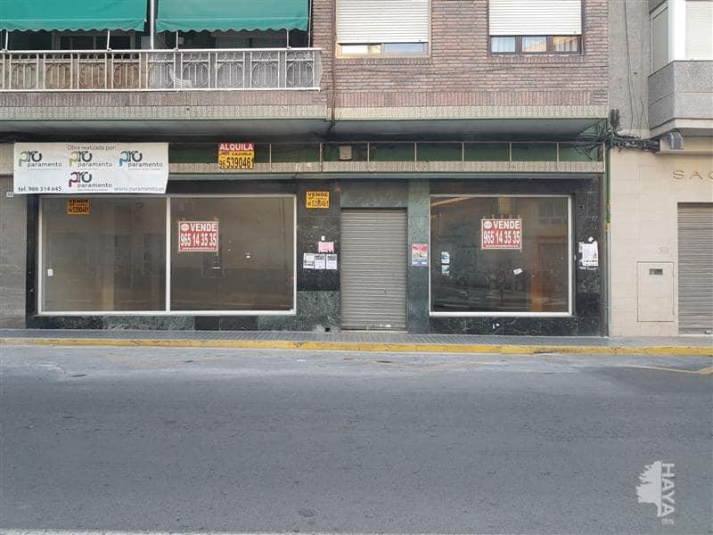 Local en venta en Elda, Alicante, Avenida Chapí, 102.697 €, 283 m2
