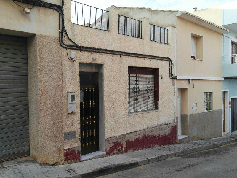 Casa en venta en Busot, Alicante, Calle Sant Josep, 75.000 €, 3 habitaciones, 1 baño, 95 m2