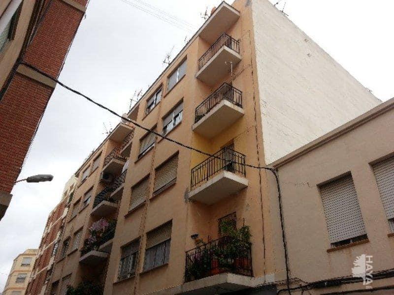 Piso en venta en Grupo Virgen de Lidón, Castellón de la Plana/castelló de la Plana, Castellón, Calle Ricardo Catala, 45.700 €, 4 habitaciones, 1 baño, 70 m2