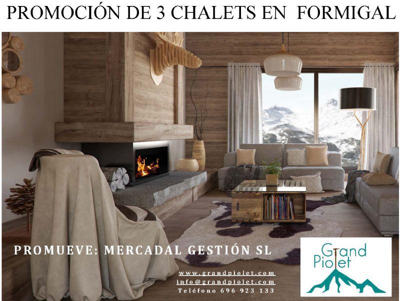 Casa en venta en Sallent de Gállego, Huesca, Calle Barcelona, 630.000 €, 4 habitaciones, 2 baños, 185 m2