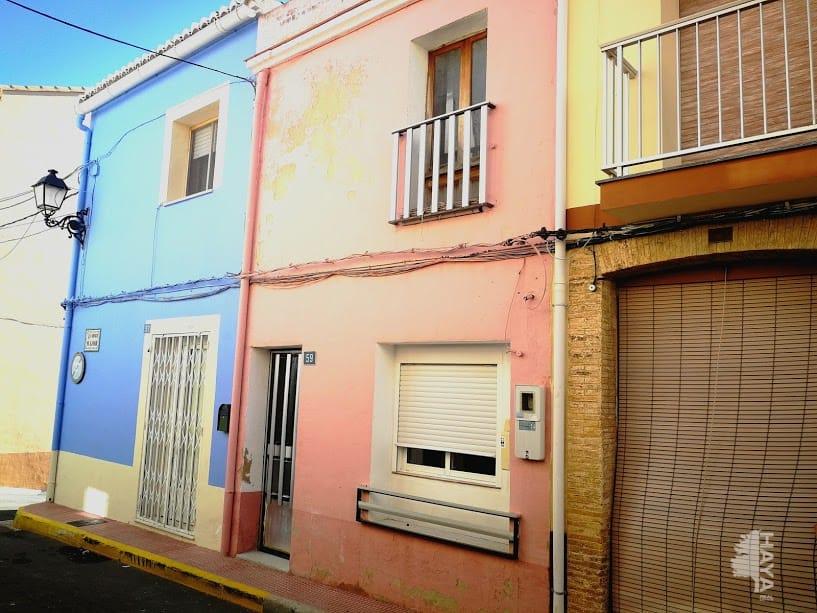 Casa en venta en Beniarbeig, Alicante, Calle Mayor, 80.197 €, 4 habitaciones, 1 baño, 148 m2