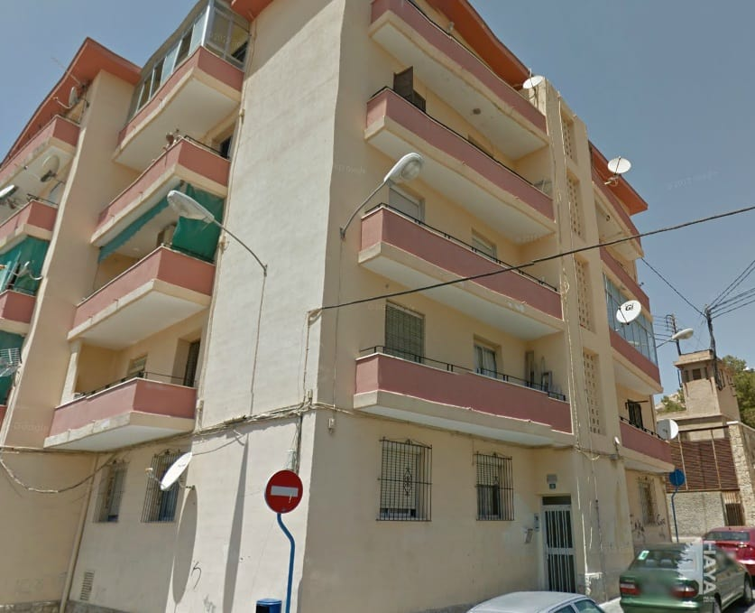 Piso en venta en Alicante/alacant, Alicante, Plaza de Oran, 15.495 €, 2 habitaciones, 1 baño, 71 m2
