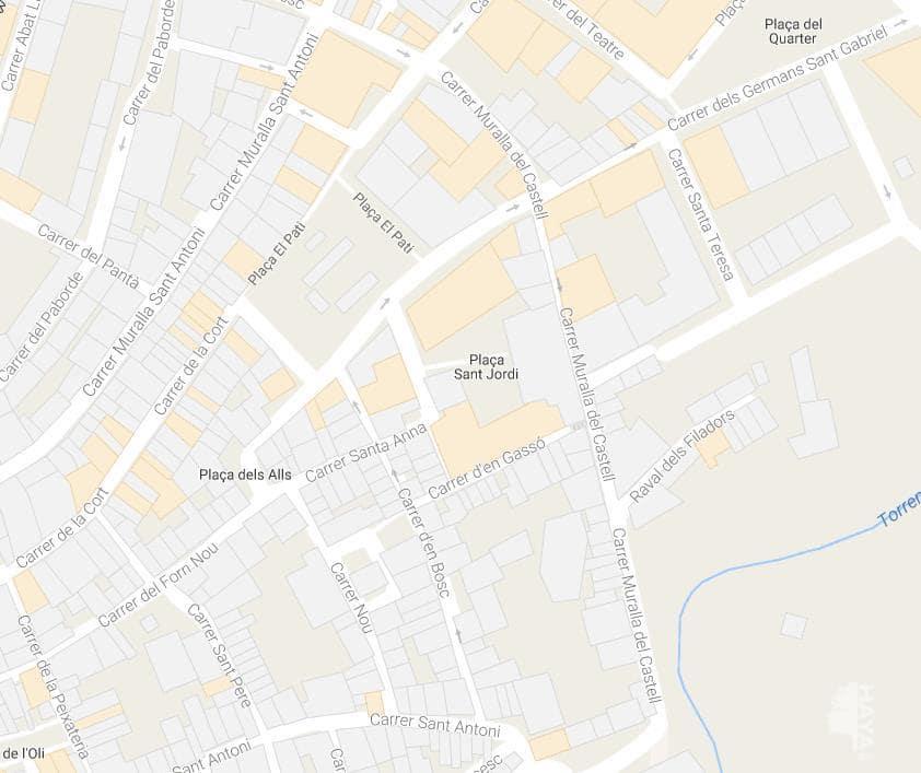 Piso en venta en Valls, Tarragona, Plaza Sant Jordi, 69.900 €, 3 habitaciones, 1 baño, 106 m2