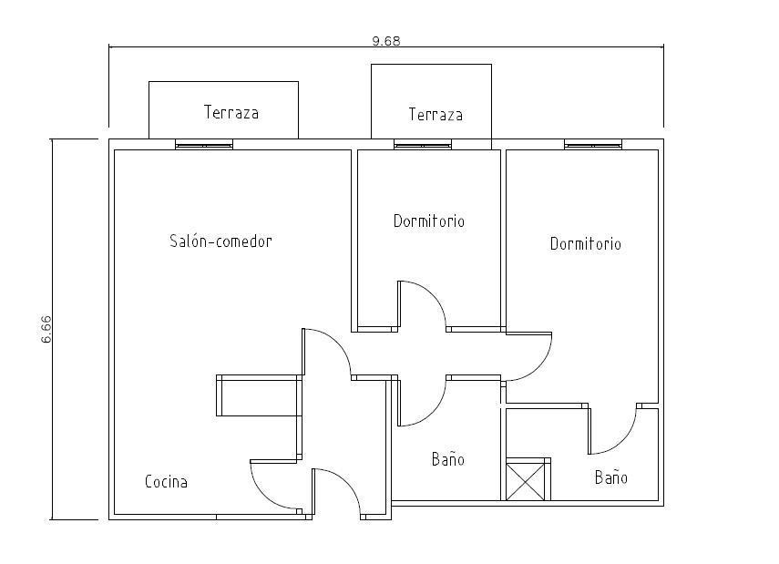 Piso en venta en Salt, Girona, Calle Doctor Castany, 105.280 €, 1 habitación, 1 baño, 56 m2