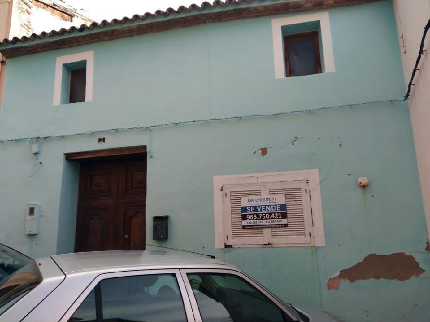 Casa en venta en L´asil, Sanet Y Negrals, Alicante, Calle Maestro Serrano, 92.340 €, 4 habitaciones, 3 baños, 204 m2