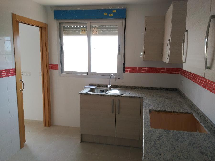 Piso en venta en Ondara, Alicante, Calle Joan Gil, 110.400 €, 3 habitaciones, 2 baños, 124 m2