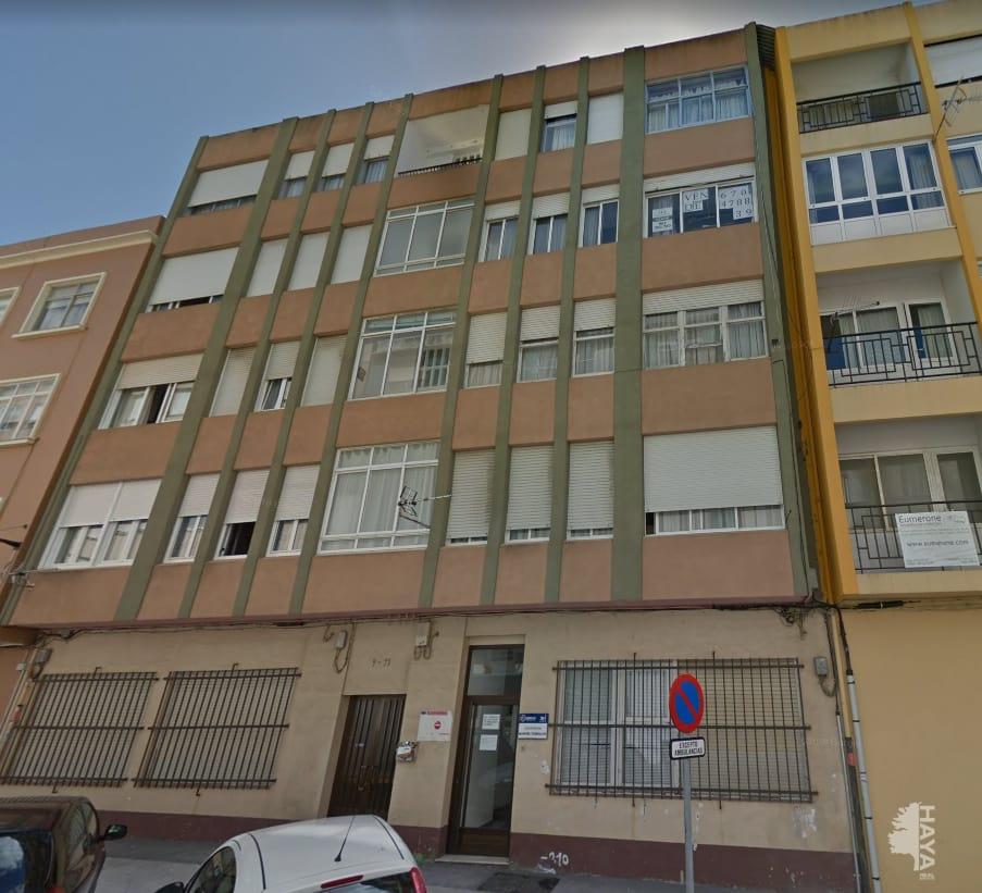 Piso en venta en Ferrol, A Coruña, Calle Manuel Comellas, 46.520 €, 2 habitaciones, 1 baño, 88 m2