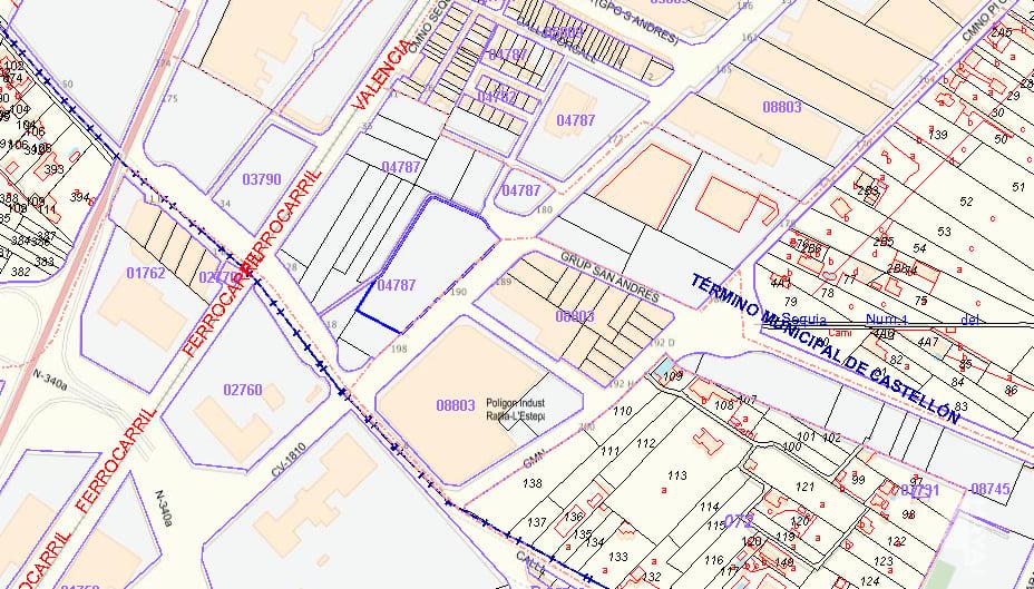 Suelo en venta en Castellón de la Plana/castelló de la Plana, Castellón, Calle Partida Estepar, 124.100 €, 6382 m2