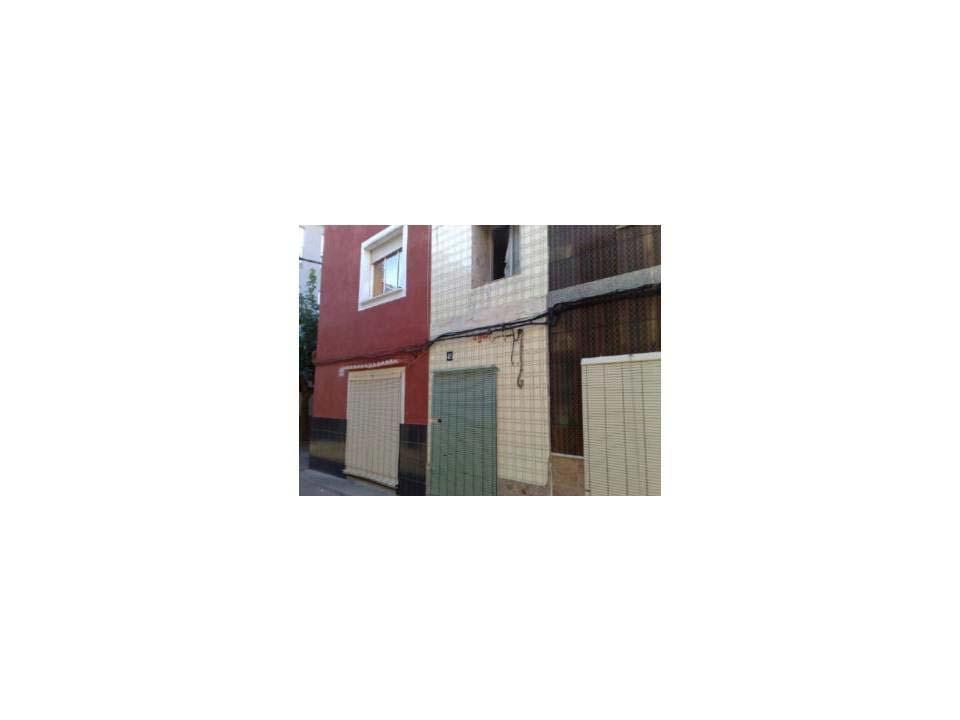 Casa en venta en Cogullada, Alzira, Valencia, Calle San Bernardo, 25.300 €, 2 habitaciones, 1 baño, 73 m2