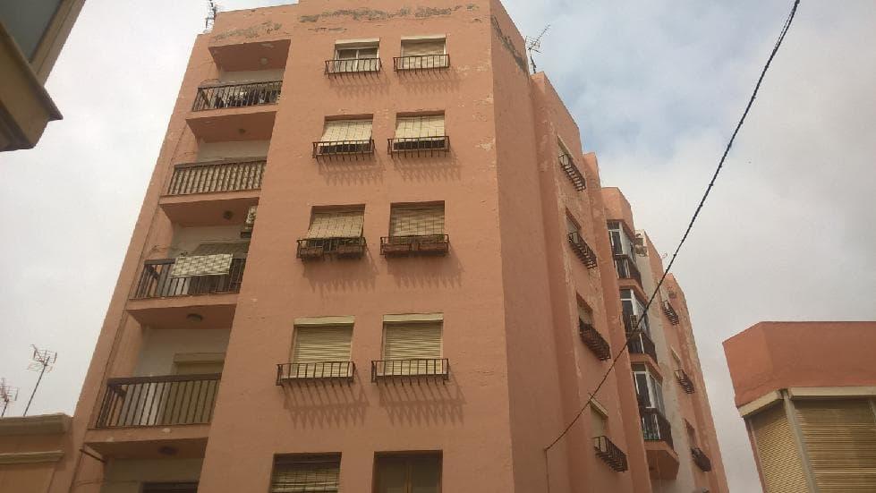 Piso en venta en Almería, Almería, Calle Regocijos, 73.209 €, 3 habitaciones, 1 baño, 92 m2