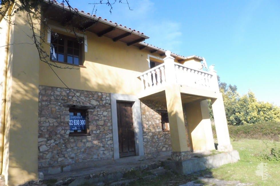 Casa en venta en Navia, Asturias, Urbanización de Zarracina, 197.975 €, 4 habitaciones, 1 baño, 145 m2