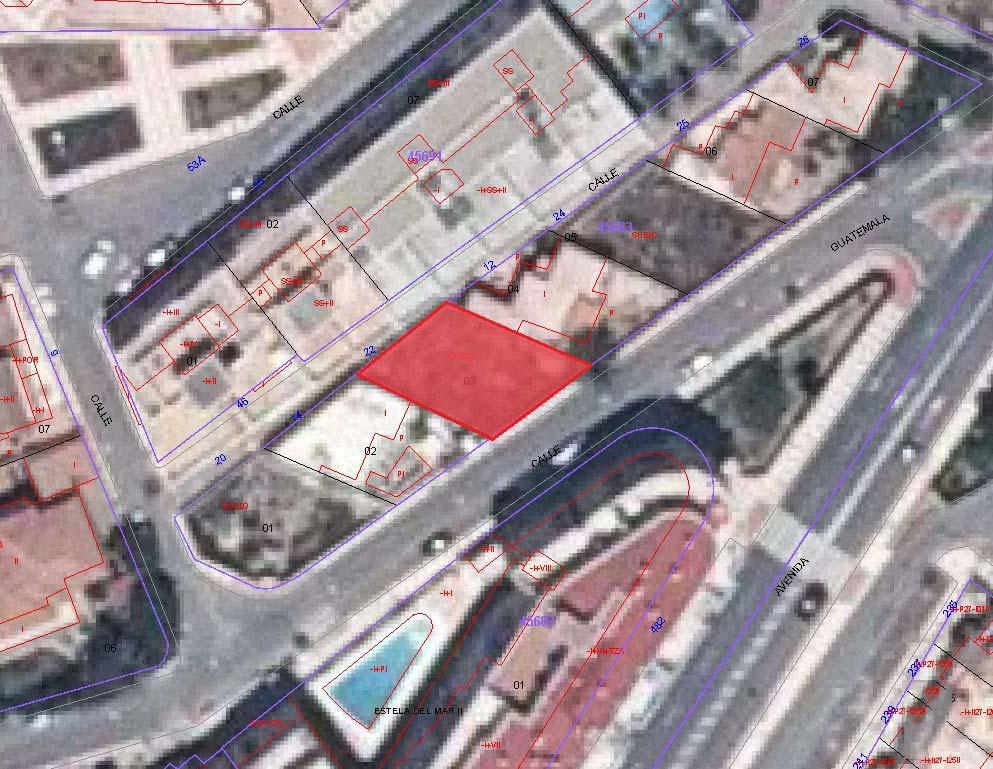 Suelo en venta en Roquetas de Mar, Almería, Calle Guatemala Y Colombia, 86.200 €, 224 m2
