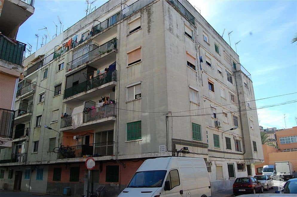 Piso en venta en Palma de Mallorca, Baleares, Pasaje Picos de Europa, 70.400 €, 3 habitaciones, 2 baños, 73 m2