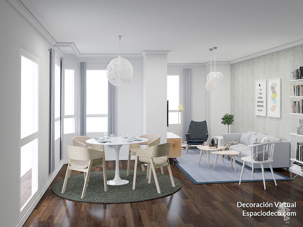 Piso en venta en Grupo la Paz, Castellón de la Plana/castelló de la Plana, Castellón, Calle Ronda Mijares, 168.000 €, 5 habitaciones, 1 baño, 203 m2